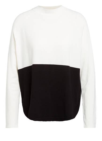 s.Oliver BLACK LABEL Pullover, Farbe: WEISS/ SCHWARZ (Bild 1)