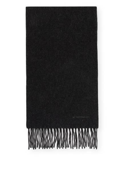 NN07 Cashmere-Schal , Farbe: HELLGRAU MELIERT (Bild 1)