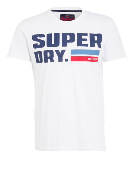 Superdry T-Shirt NYC, Farbe: WEISS (Bild 1)