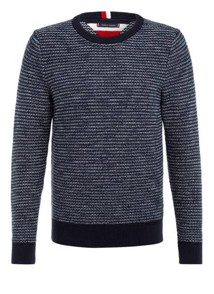 Tommy Hilfiger Pullover Honeycomb blau