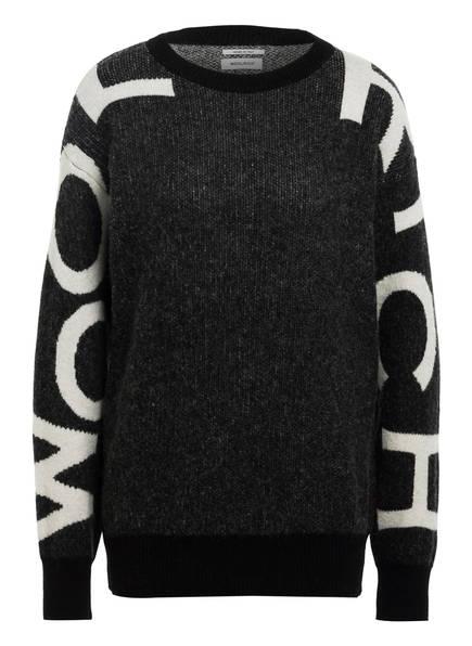 WOOLRICH Pullover , Farbe: GRAU/ SCHWARZ/ WEISS (Bild 1)