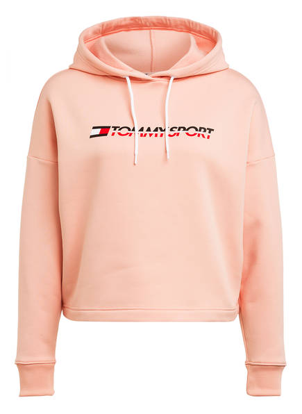 TOMMY HILFIGER Cropped-Hoodie , Farbe: ROSA (Bild 1)