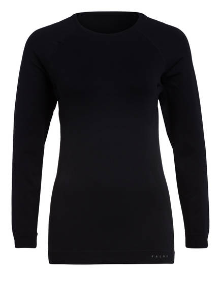Falke Funktionswäsche-Shirt Maximum Warm schwarz