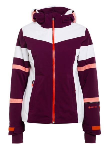 SPYDER Skijacke CAPTIVATE GTX, Farbe: WEISS/ LILA (Bild 1)