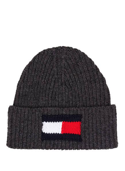 TOMMY HILFIGER Mütze, Farbe: DUNKELGRAU (Bild 1)