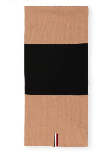TOMMY HILFIGER Schal, Farbe: SCHWARZ/ CAMEL (Bild 1)