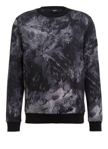 BOSS Sweatshirt WAIVE, Farbe: DUNKELGRAU/ SCHWARZ (Bild 1)