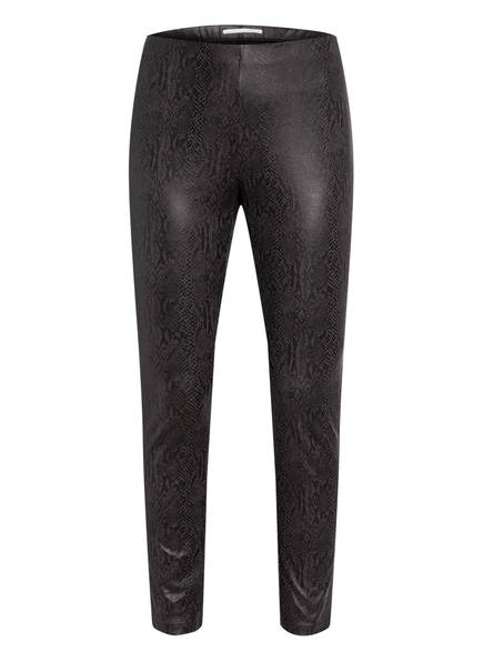 RAFFAELLO ROSSI Leggings RESA in Lederoptik, Farbe: DUNKELGRAU (Bild 1)