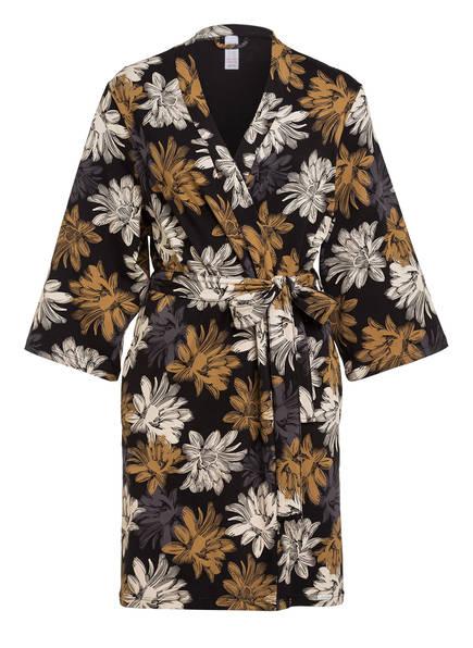 Skiny Kimono, Farbe: SCHWARZ/ CREME/ COGNAC (Bild 1)