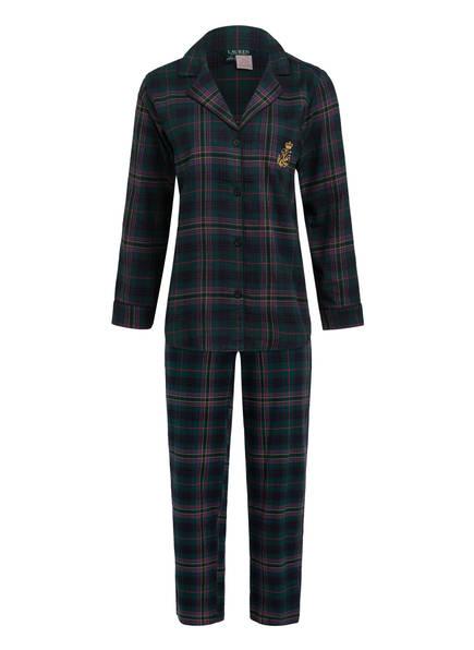 LAUREN RALPH LAUREN Schlafanzug, Farbe: DUNKELGRÜN/ PINK/ ROT (Bild 1)