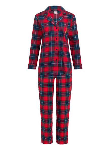 LAUREN RALPH LAUREN Schlafanzug, Farbe: ROT/ GRÜN/ BLAU (Bild 1)