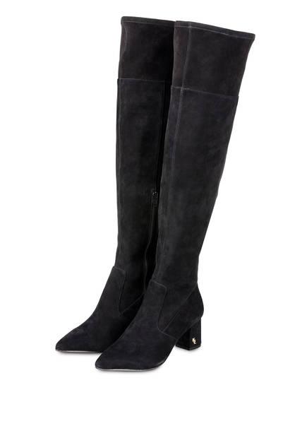 KURT GEIGER Overknee-Stiefel BURLINGTON, Farbe: SCHWARZ (Bild 1)