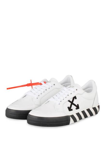 OFF-WHITE Sneaker LOW VULCANIZED , Farbe: WEISS/ SCHWARZ (Bild 1)