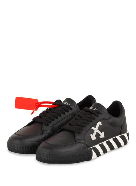 OFF-WHITE Sneaker LOW VULCANIZED , Farbe: SCHWARZ (Bild 1)