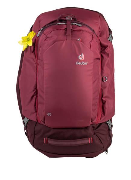 deuter Rucksack AVIANT ACCESS PRO 55 SL mit zusätzlichem Tagesrucksack, Farbe: BORDEAUX (Bild 1)