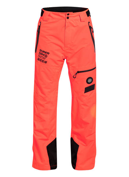 Superdry Skihose PRO RAZER RESCUE, Farbe: ORANGE (Bild 1)