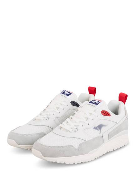 KangaROOS Sneaker ULTIMATE OG BSO, Farbe: WEISS/ GRAU (Bild 1)