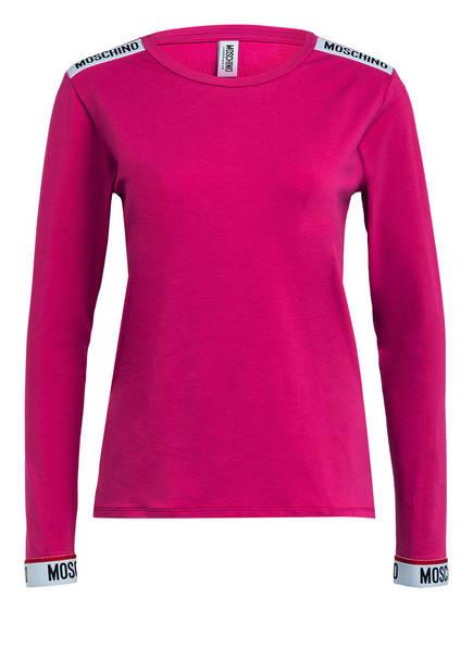 MOSCHINO Lounge-Shirt, Farbe: FUCHSIA (Bild 1)