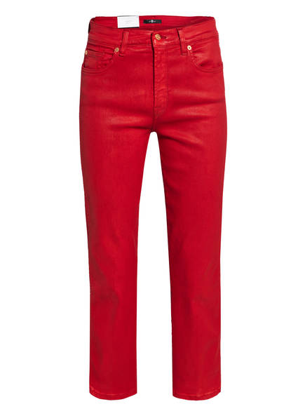 7 for all mankind 7/8-Hose THE ANKLE FLARE, Farbe: RE RED (Bild 1)