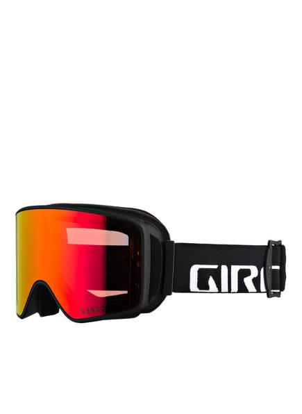 GIRO Skibrille METHOD, Farbe: SCHWARZ/ HELLORANGE/ GELB (Bild 1)