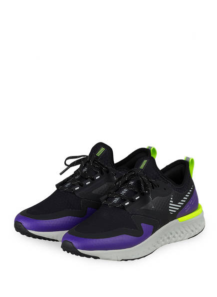 Nike Fitnessschuhe ODYSSEY REACT 2 SHIELD, Farbe: SCHWARZ/ LILA/ NEONGRÜN (Bild 1)