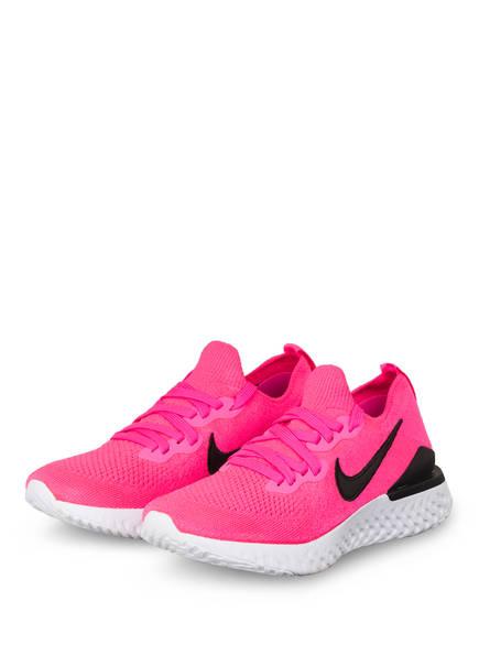 Nike Laufschuhe EPIC REACT FLYKNIT 2, Farbe: NEONPINK/ SCHWARZ (Bild 1)