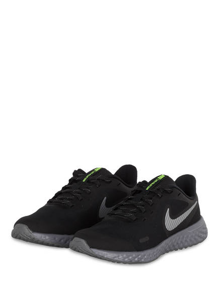 Nike Laufschuhe REVOLUTION 5, Farbe: SCHWARZ/ GRAU (Bild 1)