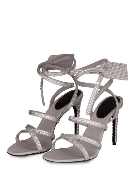 OFF-WHITE Sandaletten, Farbe: GRAU (Bild 1)