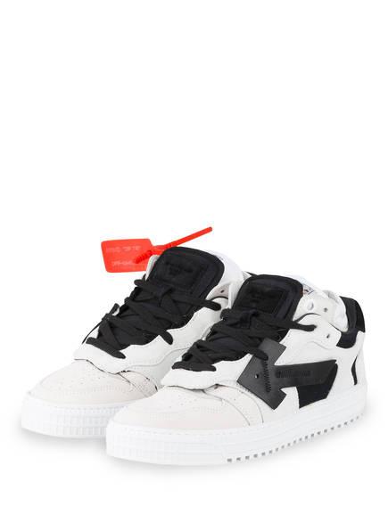 OFF-WHITE Sneaker 4.0, Farbe: CREME/ SCHWARZ (Bild 1)