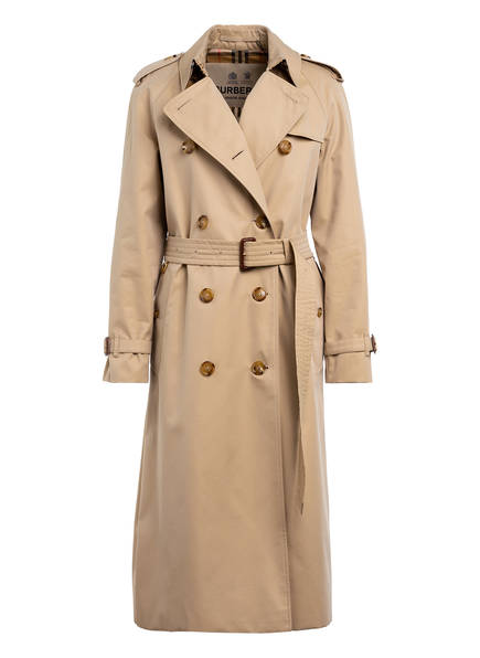 BURBERRY Trenchcoat WATERLOO, Farbe: CAMEL (Bild 1)