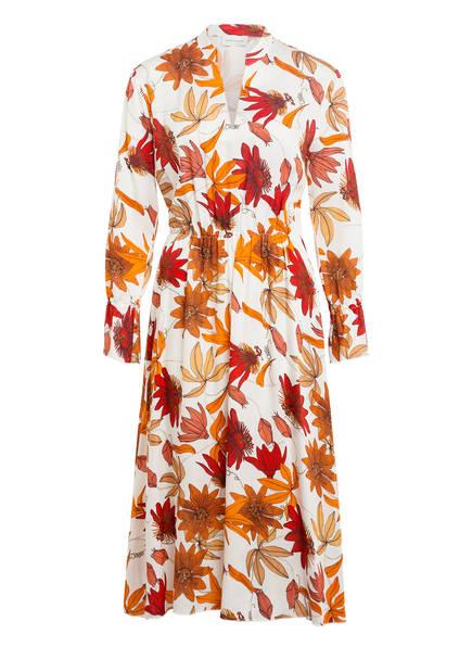 RENÉ LEZARD Kleid, Farbe: CREME/ ROT/ ORANGE (Bild 1)