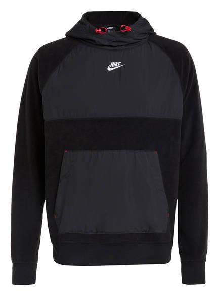 Nike Hoodie, Farbe: SCHWARZ/ GRAU (Bild 1)