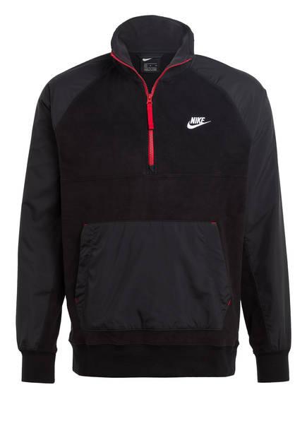 Nike Fleece-Troyer, Farbe: SCHWARZ (Bild 1)