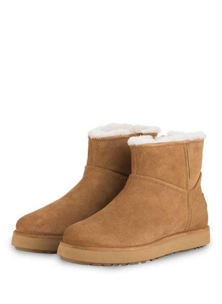 UGG Boots  CLASSIC MINI, Farbe: CAMEL (Bild 1)