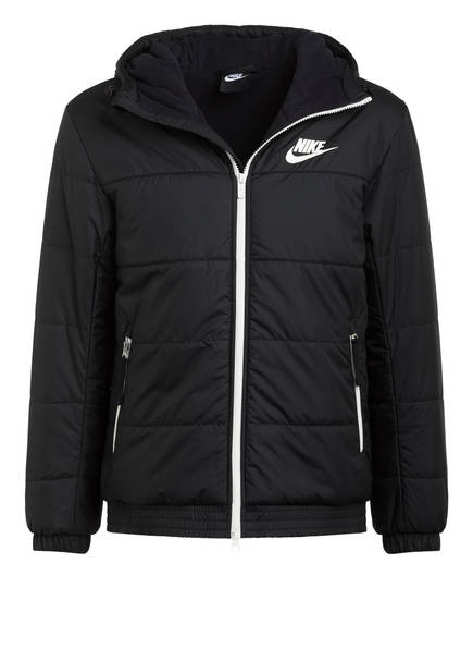 Nike Steppjacke, Farbe: SCHWARZ (Bild 1)