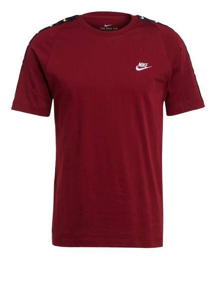Nike T-Shirt SWOOSH, Farbe: DUNKELROT (Bild 1)