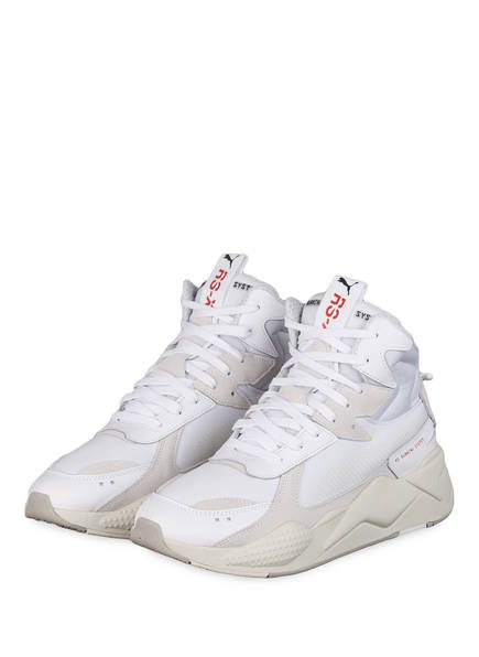 PUMA High-Top Sneaker RS-X, Farbe: WEISS/ CREME (Bild 1)