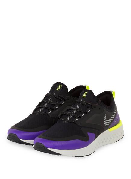 Nike Laufschuhe ODYSSEY REACT 2 SHIELD, Farbe: SCHWARZ/ LILA (Bild 1)