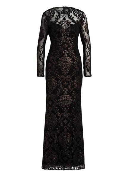ADRIANNA PAPELL Abendkleid mit Glitzergarn, Farbe: SCHWARZ (Bild 1)