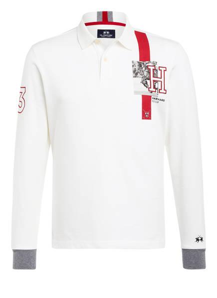 LA MARTINA Jersey-Poloshirt OSMONDO Regular Fit, Farbe: CREME (Bild 1)
