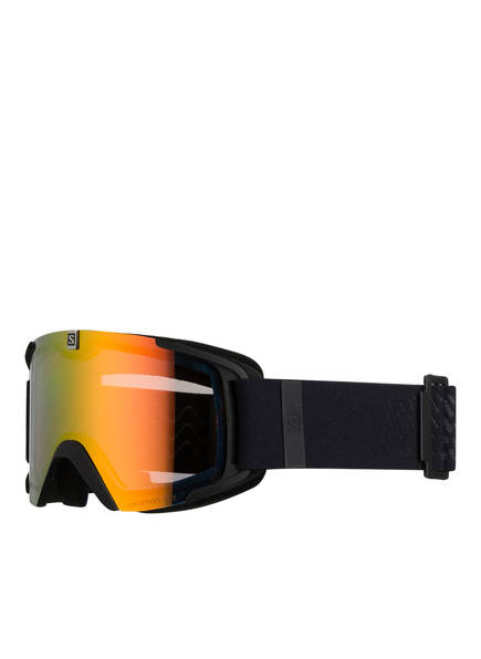 SALOMON Skibrille XVIEW PHOTO, Farbe: SCHWARZ/ ORANGE (Bild 1)