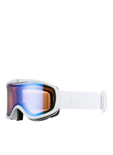 SALOMON Skibrille SENSE PHOTO, Farbe: WEISS/ FLIEDER (Bild 1)