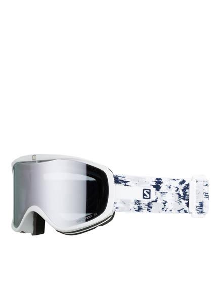 SALOMON Skibrille SENSE, Farbe: WEISS/ BLAU (Bild 1)