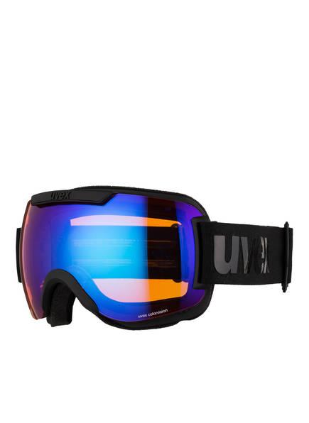 uvex Skibrille DOWNHILL 2000 CV, Farbe: SCHWARZ MATT/ BLAU (Bild 1)