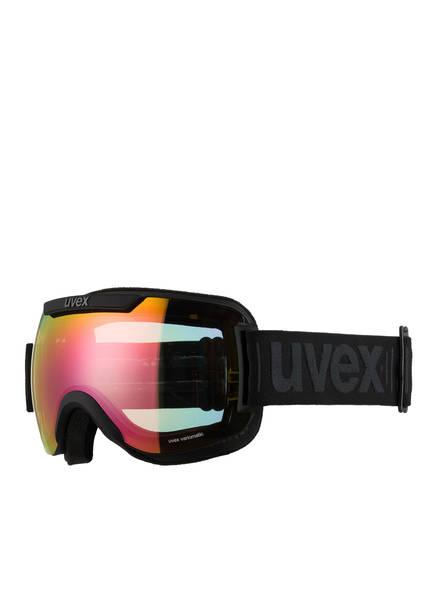 uvex Skibrille DOWNHILL 2000 V, Farbe: SCHWARZ MATT/ GELB (Bild 1)