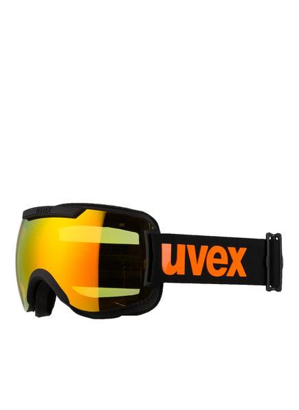 uvex Skibrille DOWNHILL 2000 CV, Farbe: SCHWARZ MATT/ ORANGE (Bild 1)