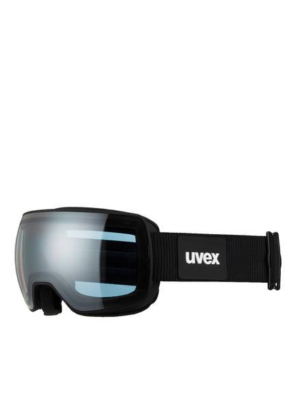 uvex Skibrille COMPACT FM, Farbe: SCHWARZ MATT/ SILBER (Bild 1)
