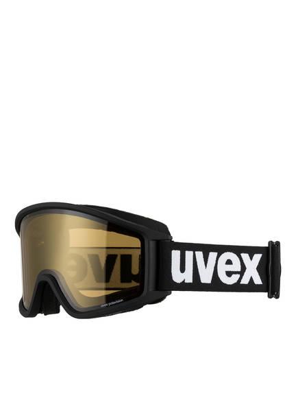 uvex Skibrille G.GL 3000 P, Farbe: SCHWARZ MATT/ GOLD (Bild 1)