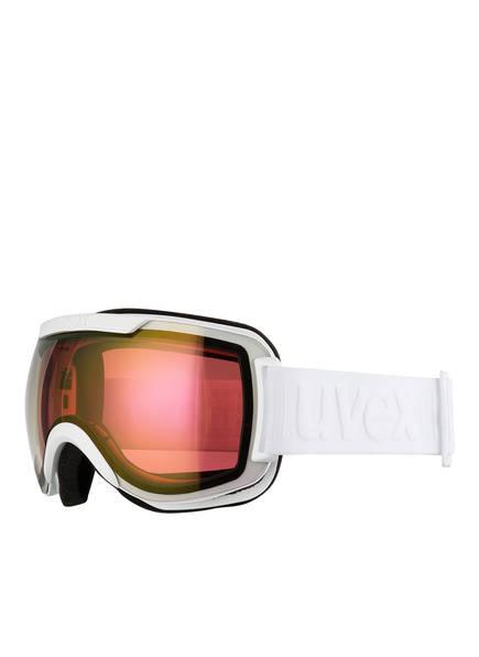 uvex Skibrille DOWNHILL 2000 FM, Farbe: WEISS/ ROT (Bild 1)