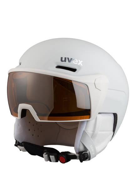uvex Skihelm 700 VISOR, Farbe: WEISS (Bild 1)